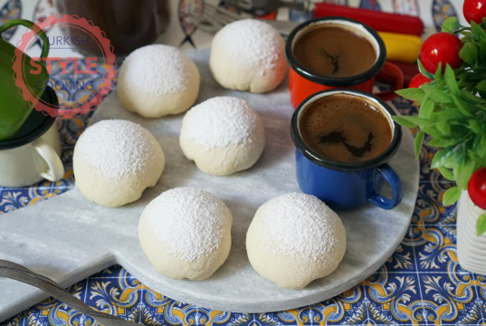 Mastic Pudding Cookies