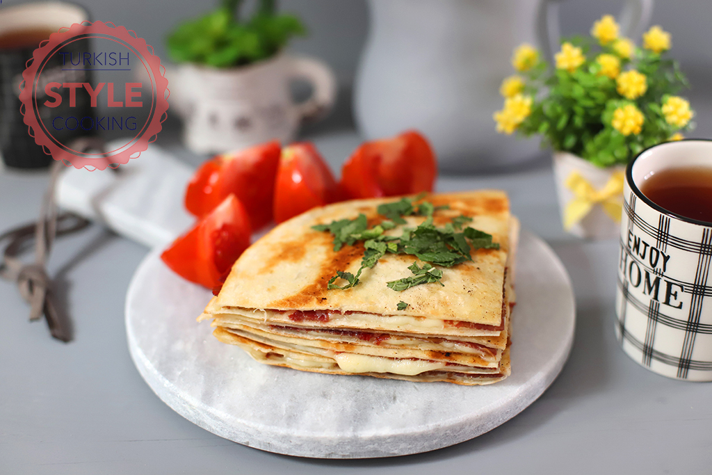 Pastrami Quesadilla Recipe