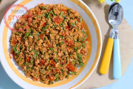 Cauliflower Kısır Recipe