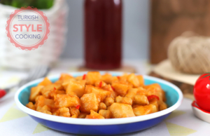 Celery Root Stew With Chickpeas