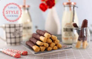 Chocolate Tahini Sticks Recipe