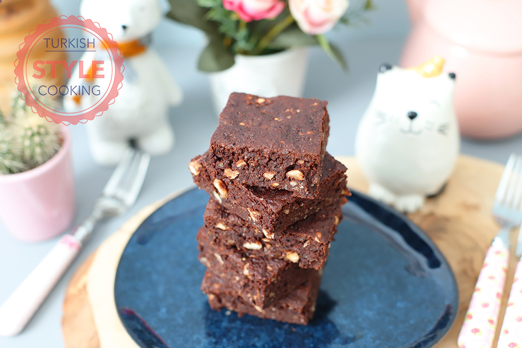 Gluten Free Red Bean Brownies Recipe