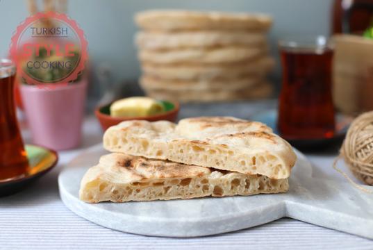 Sourdough Bazlama Bread Recipe