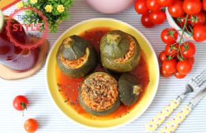 Eight Ball Zucchini Dolma Recipe