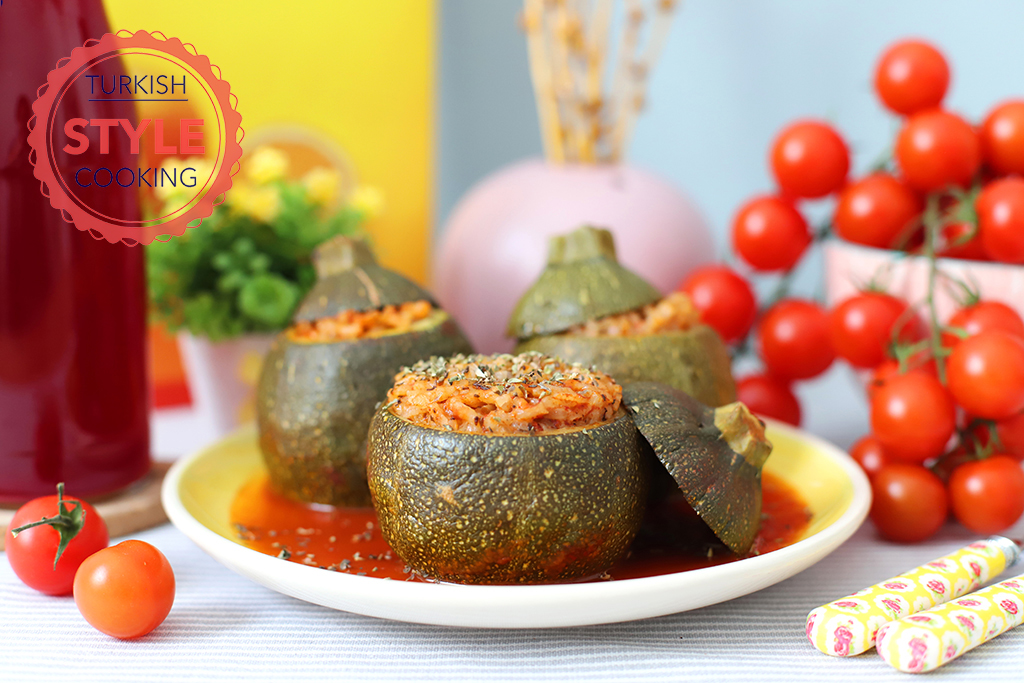 Eight Ball Zucchini Dolma Recipe