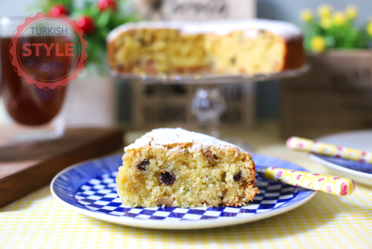 Milk and Egg Free Saint Fanourios Cake Recipe