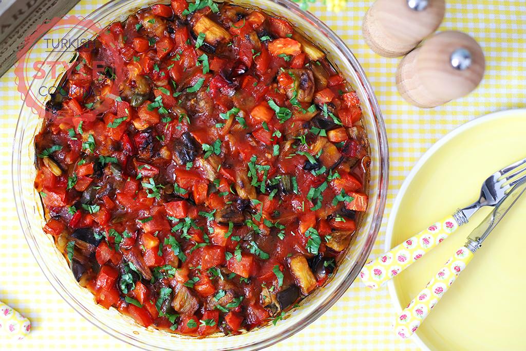 Baked Eggplant Casserole Recipe
