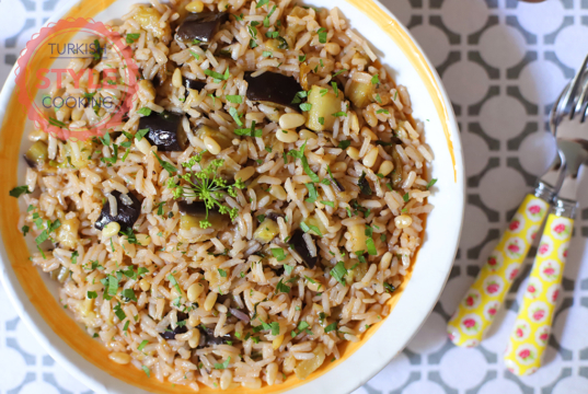Eggplant Pilav Recipe