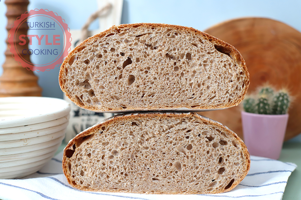 Whole Wheat Sourdough Bread Recipe