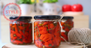 Quick Pickled Hot Peppers