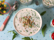 Cold Soup With Green Lentils