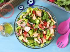 Fettush Salad Recipe