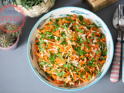 Kohlrabi Carrot Salad Recipe