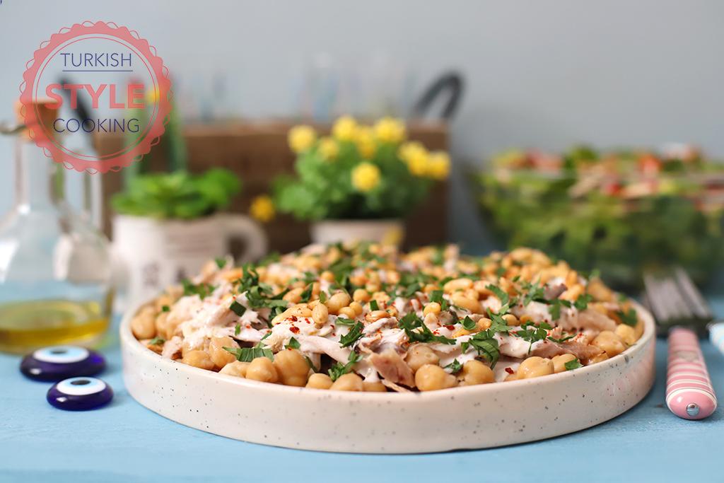 Lebanese Chicken Fatteh Recipe