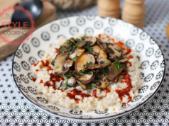 Keskek With Mushrooms Recipe