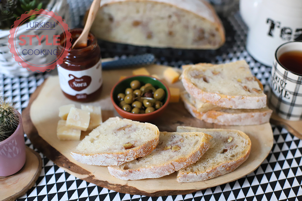 Sourdough Walnut Bread Recipe