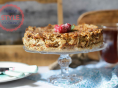 Apple Spread Cake Recipe