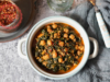 Spinach Stew With Chickpeas