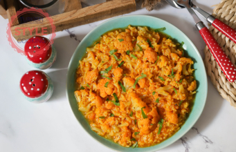 Cauliflower Stew With Rice Recipe