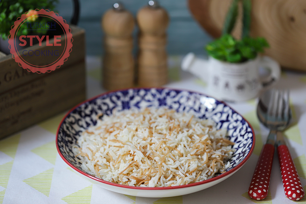 Rice Pilav With Shortcut Vermicelli