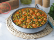 Pea Stew With Bulgur Koftes