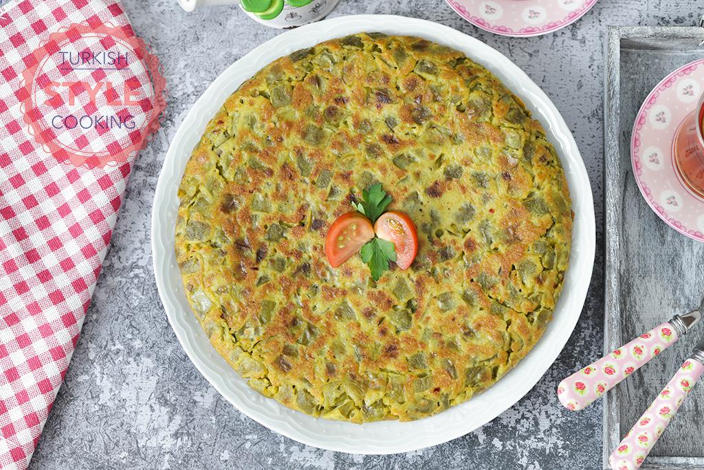 Green Bean Fritter Recipe