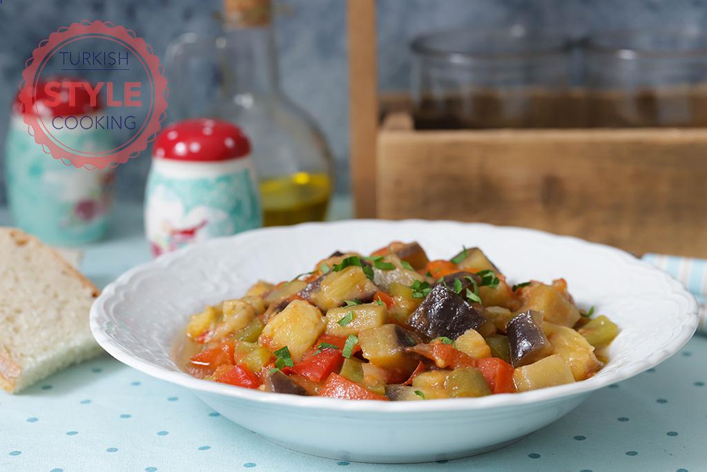 No Stir Eggplant Stew Recipe