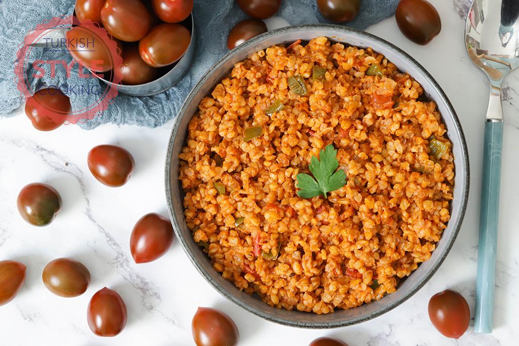 Eirkorn Bulgur Pilav Recipe