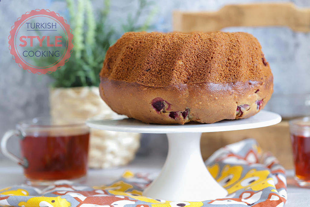 Sour Cherry Bundt Cake Recipe