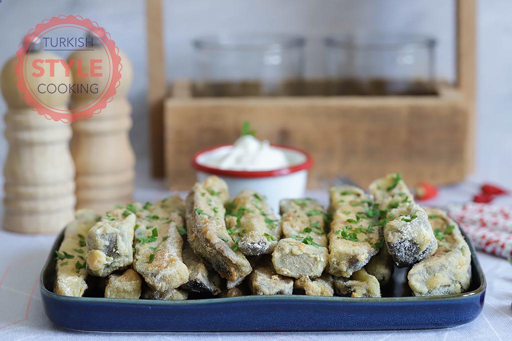 Patlıcan Balığı (Breaded Eggplant) Recipe