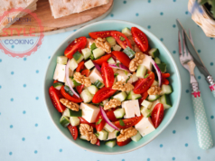 Fresh Tomato and Cheese Salad Recipe