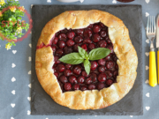 Sour Cherry Galette Recipe