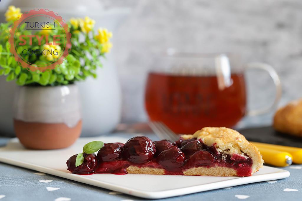 Sour Cherry Galette Recipe