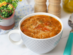 Orzo Soup With Ground Beef Recipe