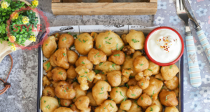 Vegan Cauliflower Fries Recipe