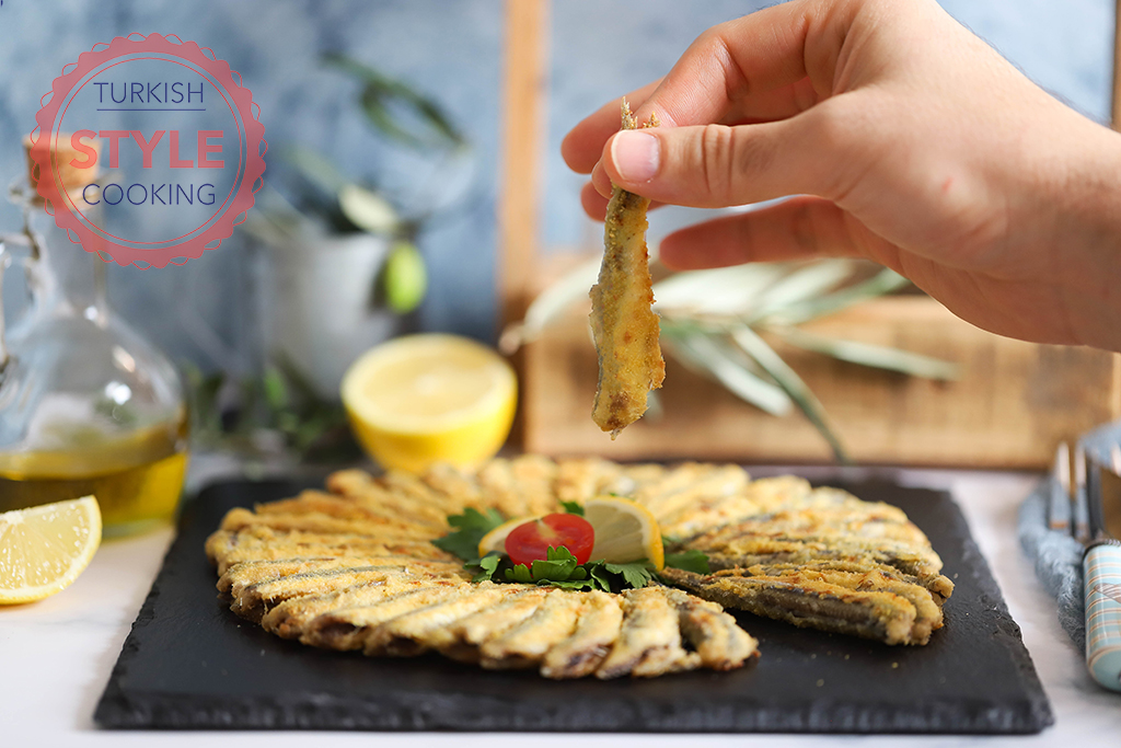 Pan Fried Anchovies Recipe