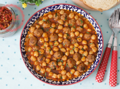 Chickpea Stew With Kofte Recipe