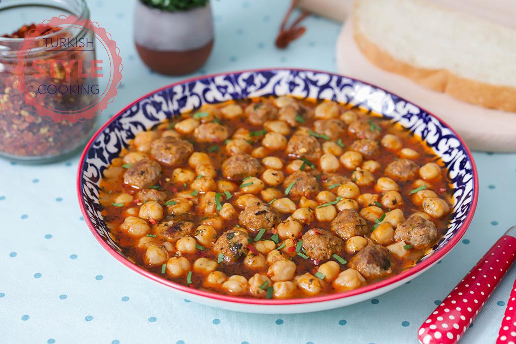 Chickpea Stew With Kofte Recipe