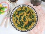 Vegan Omelette With Cornmeal
