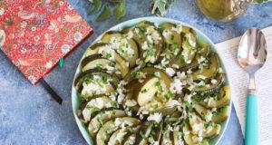 Olive Oil Eight Ball Zucchini Recipe