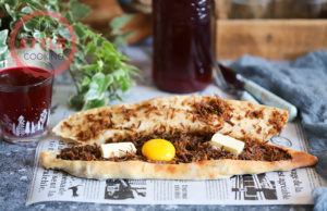 Kavurmalı Karadeniz Pidesi Recipe