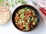 Roasted Pepper Salad With Avocado